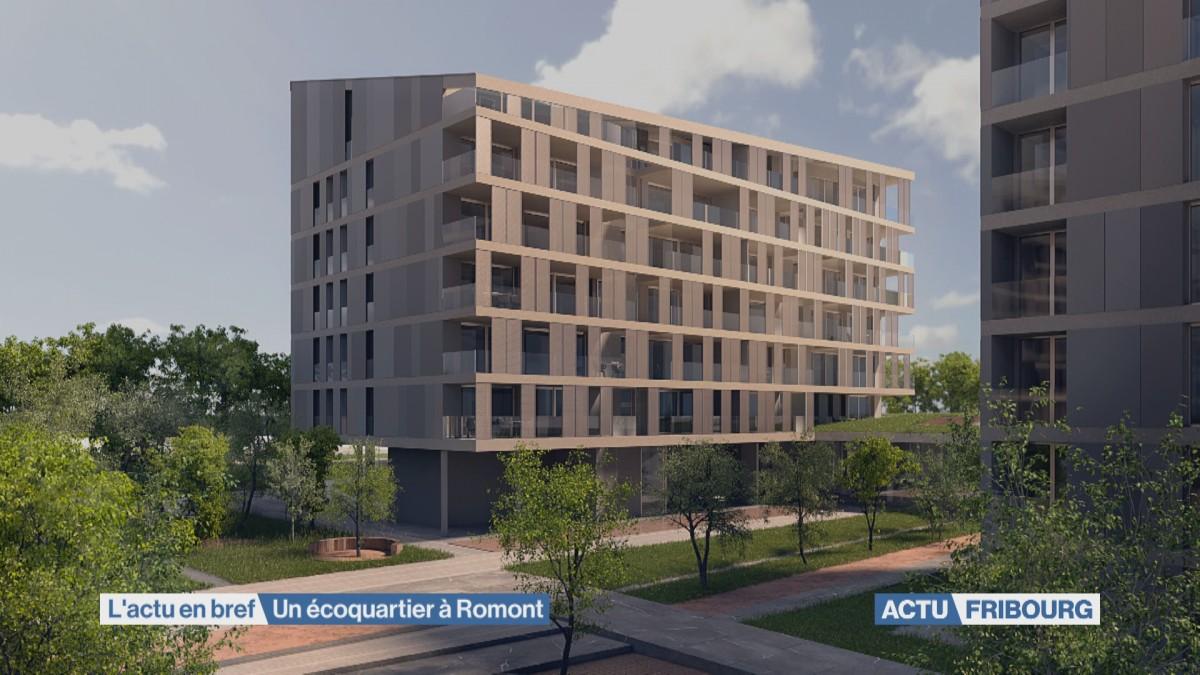 Un écoquartier à Romont