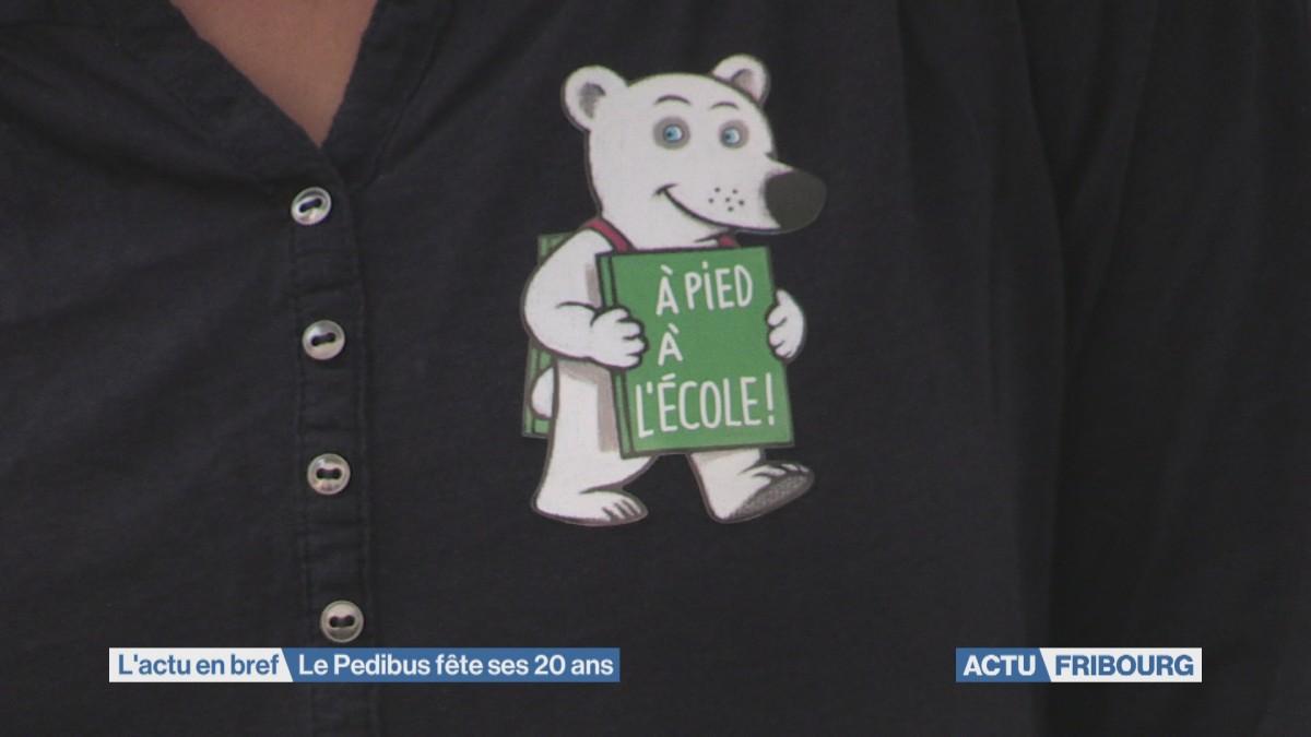 Le Pedibus fête ses 20 ans