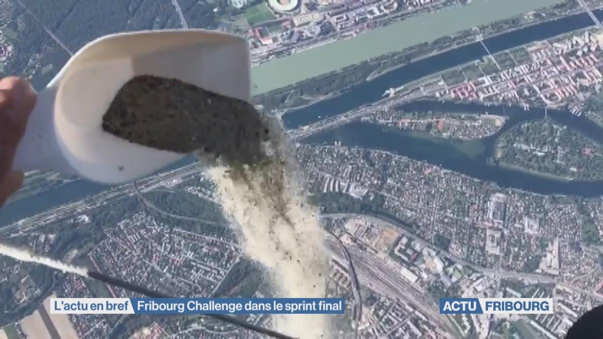 Fribourg Challenge dans le sprint final