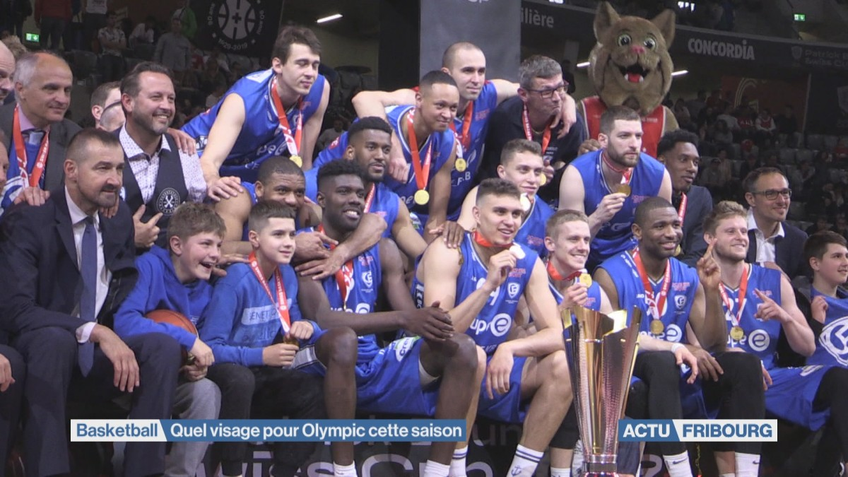 Fribourg Olympic entend conserver son titre