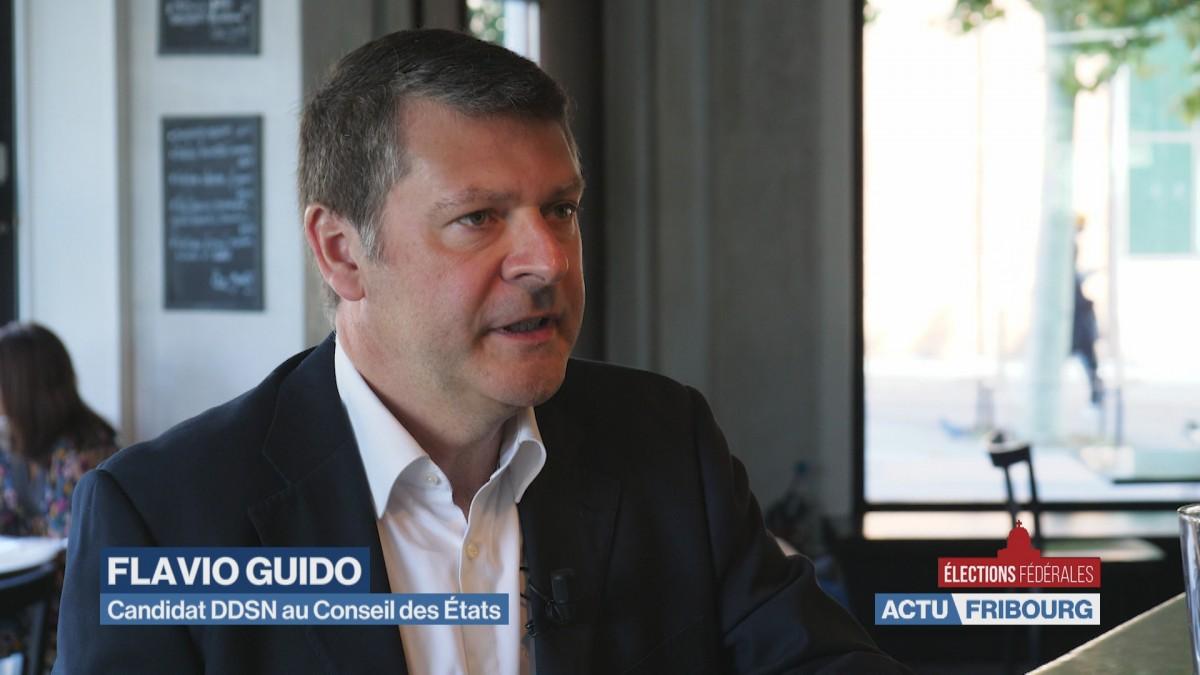 Flavio Guido en course pour le Conseil des Etats
