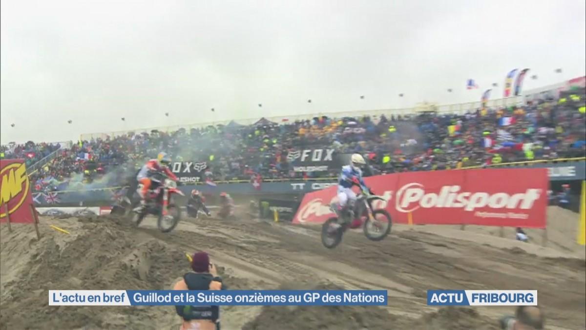 Guillod et la Suisse onzièmes au GP des Nations