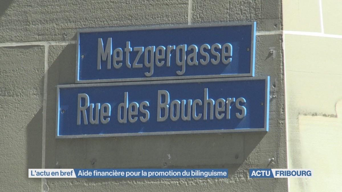 Aide financière pour la promotion du bilinguisme