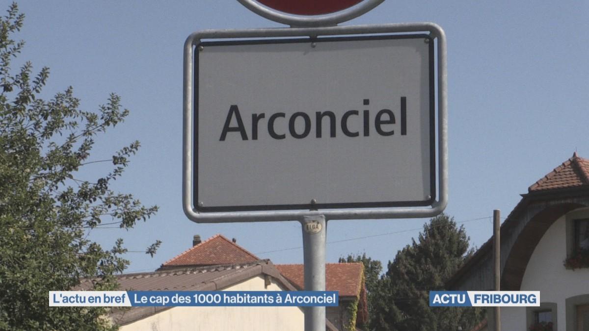 Le cap des 1'000 habitants à Arconciel