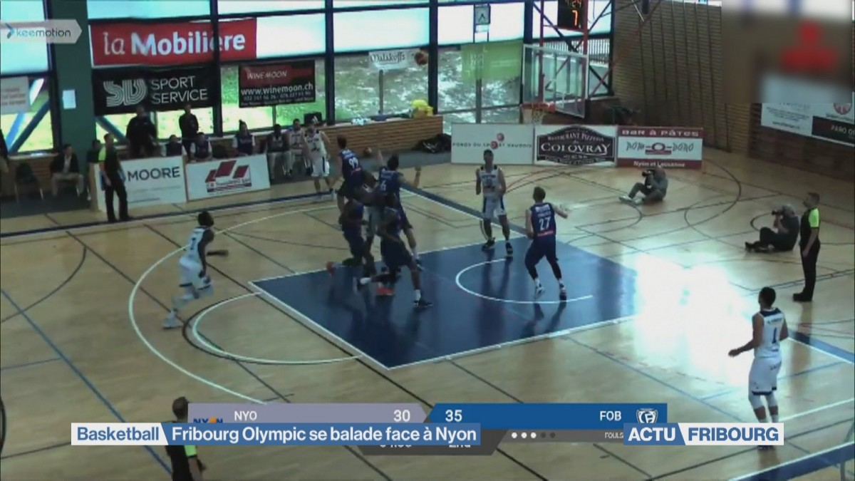 Fribourg Olympic se balade contre Nyon