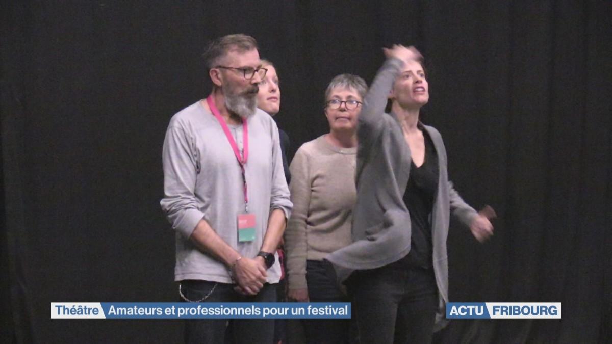 FriScènes réunit amateurs et professionnels du théâtre.