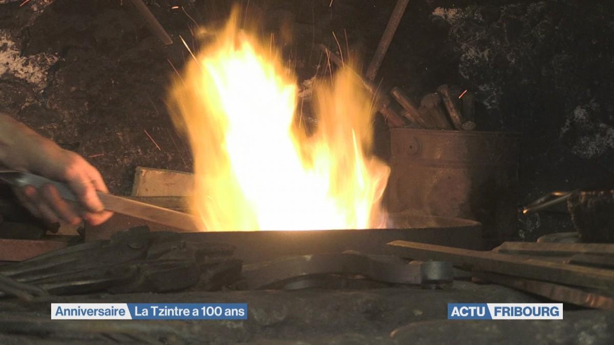 La Forge de la Tzintre a 100 ans