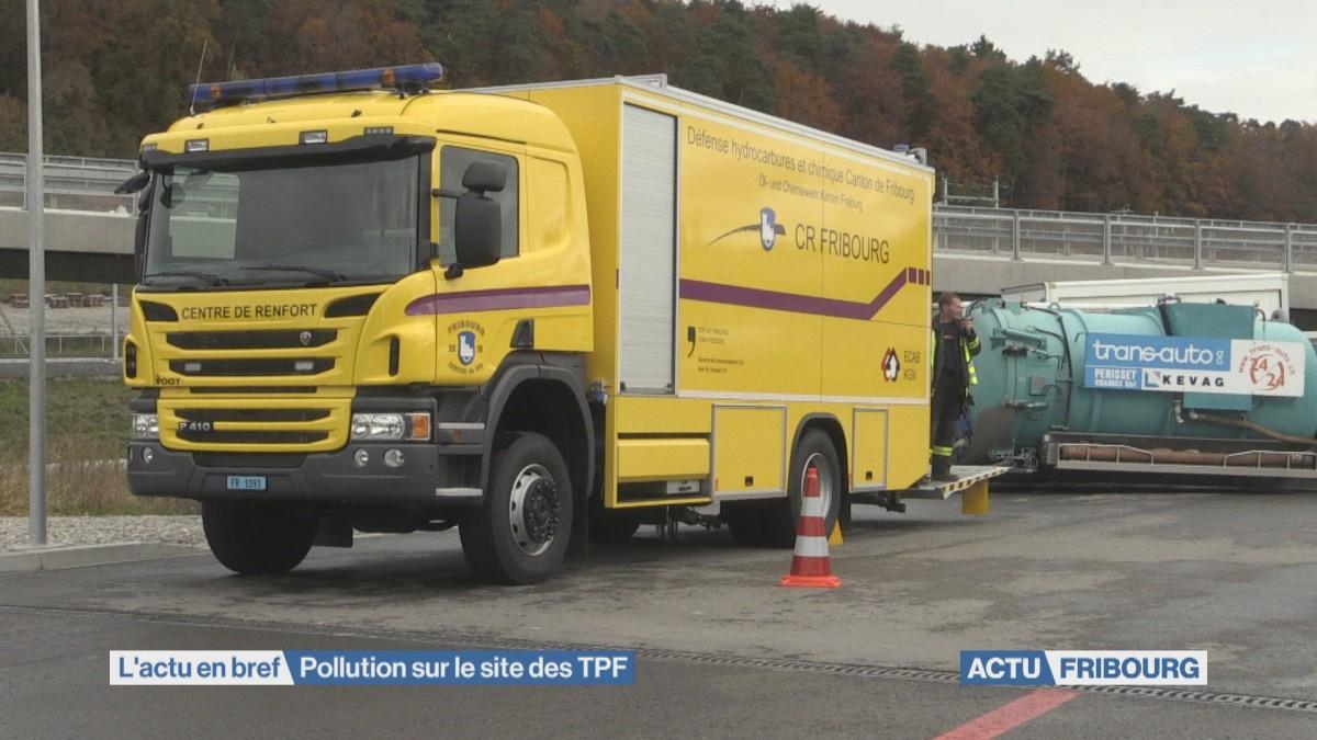 Pollution sur le site des TPF