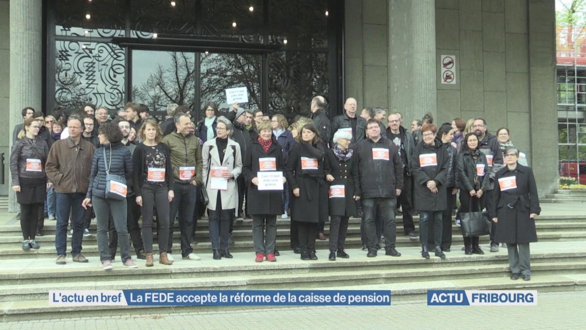 La FEDE accepte la réforme de la caisse de pension