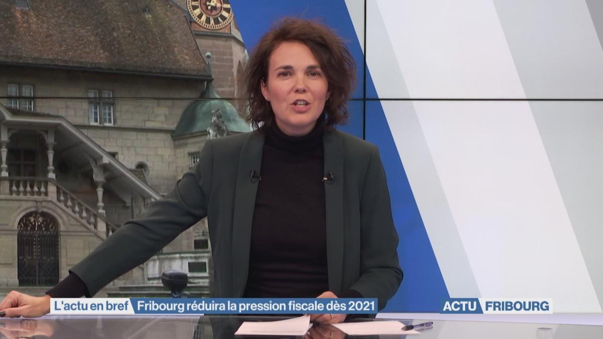 Fribourg réduira la pression fiscale dès 2021