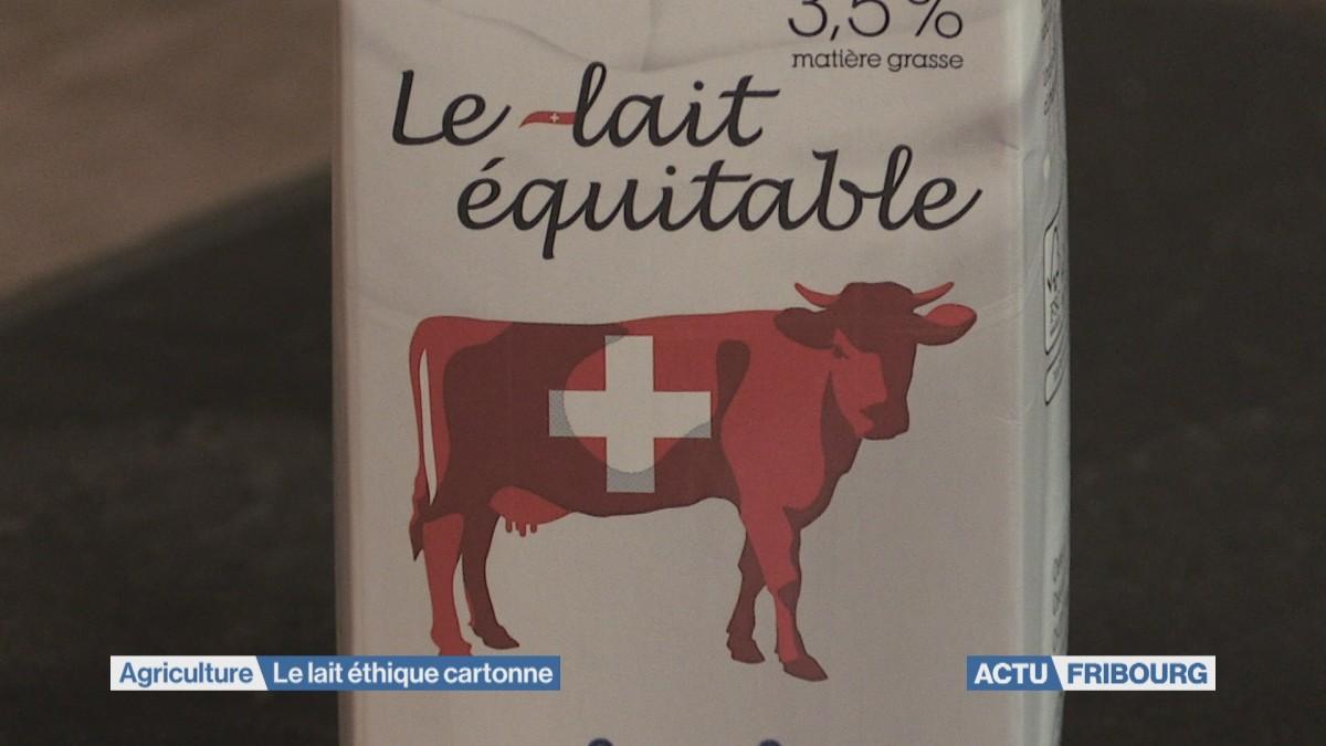 Le lait éthique se fait une place dans les rayons