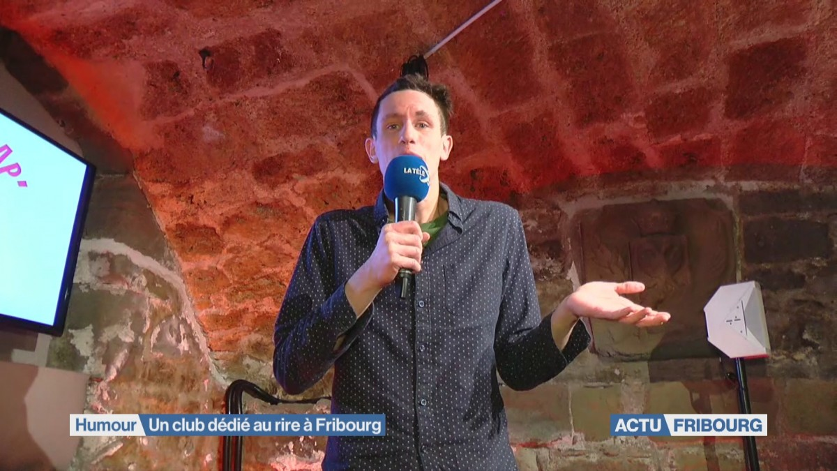 Un club 100% humour à Fribourg