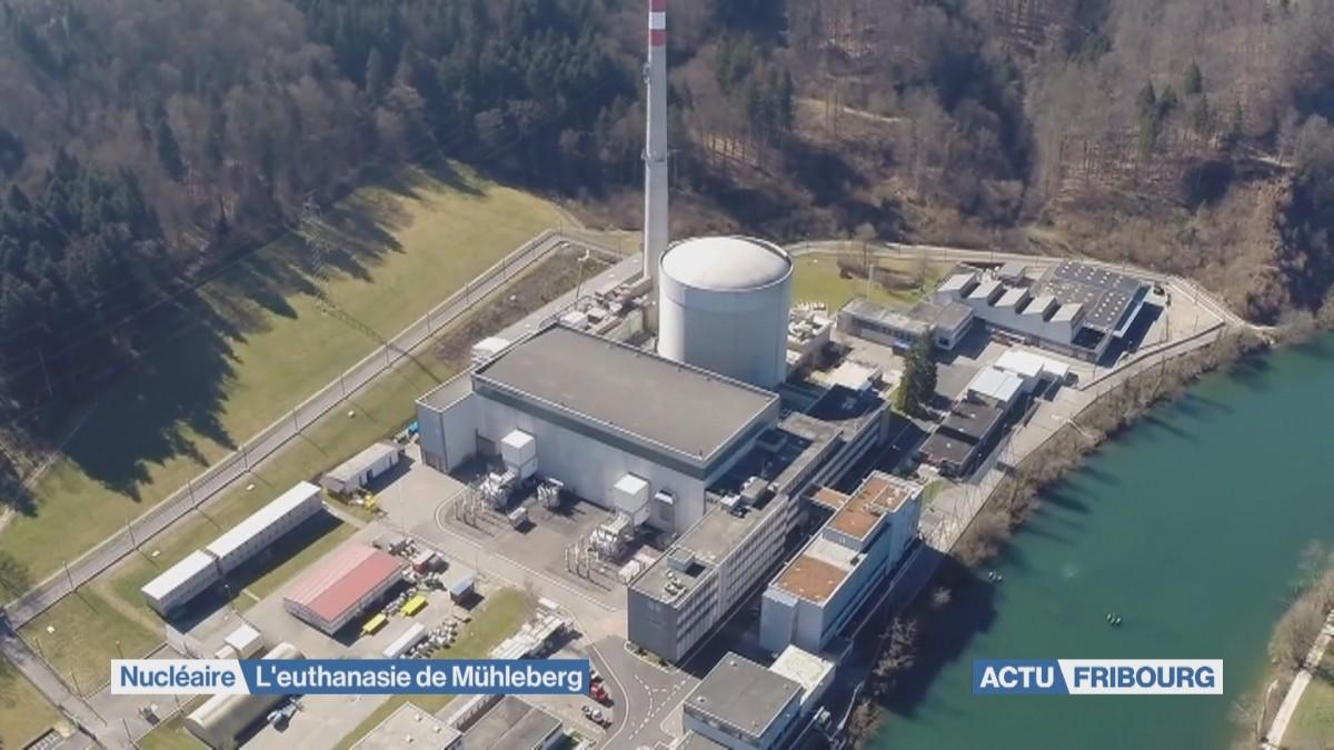 Nucléaire: l'euthanasie de Mühleberg