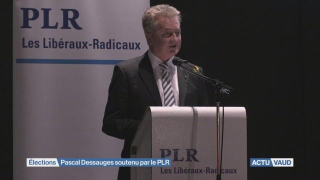 Le PLR Vaud soutient Pascal Dessauges