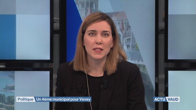 Un 4ème municipal pour Vevey