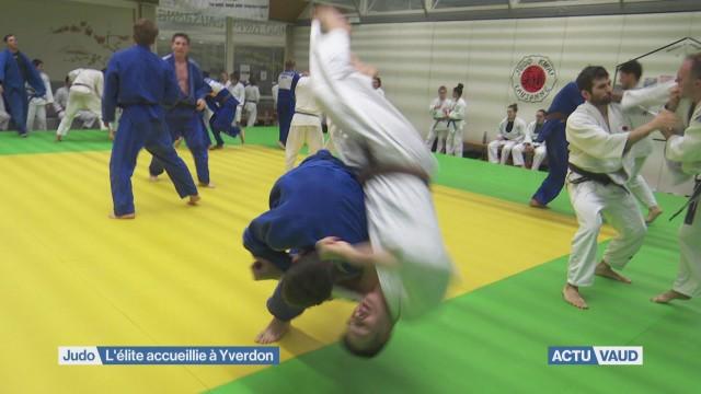 Les meilleurs judokas romands à Yverdon
