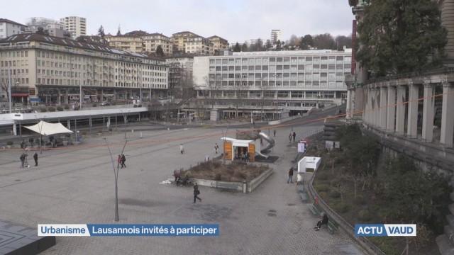 Urbanisme: Lausannois invités à participer