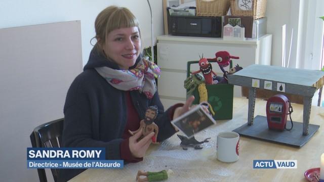 Sandra Romy, l'art de l'absurde.