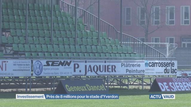 Près de 8 millions pour le stade d'Yverdon-les-Bains