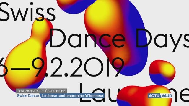 L'actu du vendredi au Swiss Dance Days