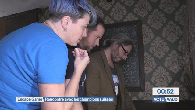 Les Pingouins Ténébreux champions suisses d'Escape Game