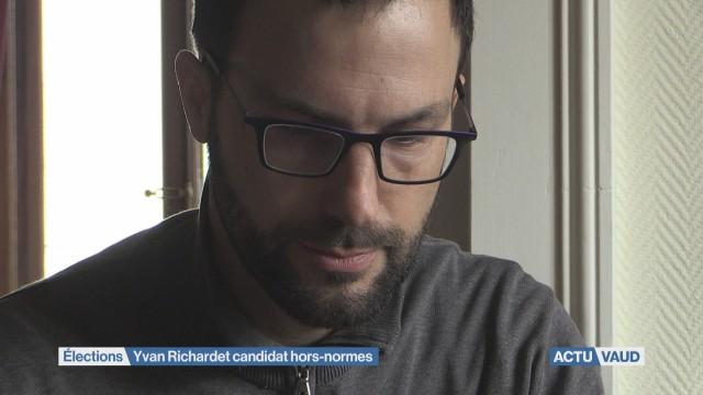 Yvan Richardet: candidat au Conseil d'Etat malgré lui