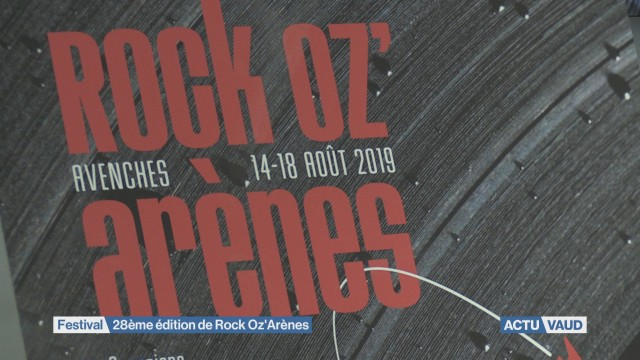 28ème édition de Rock Oz'Arènes