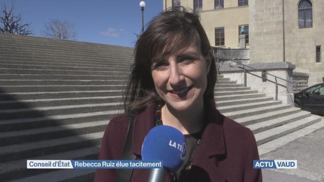 La socialiste Rebecca Ruiz élue tacitement