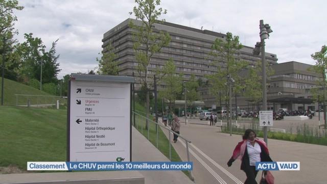 Le CHUV parmi les 10 meilleurs hôpitaux du monde