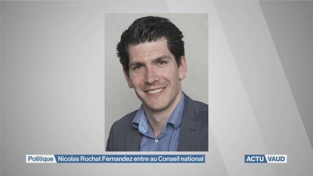 Nicolas Rochat Fernandez entre au Conseil national