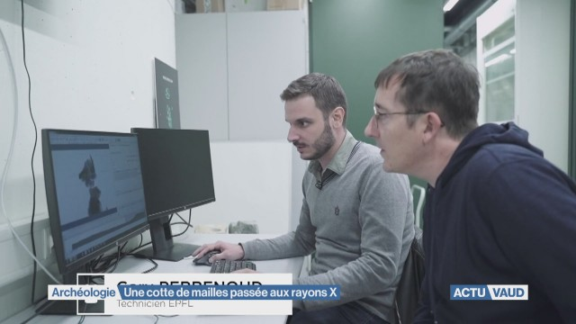 Le secret d'une cotte de mailles dévoilé aux rayons X