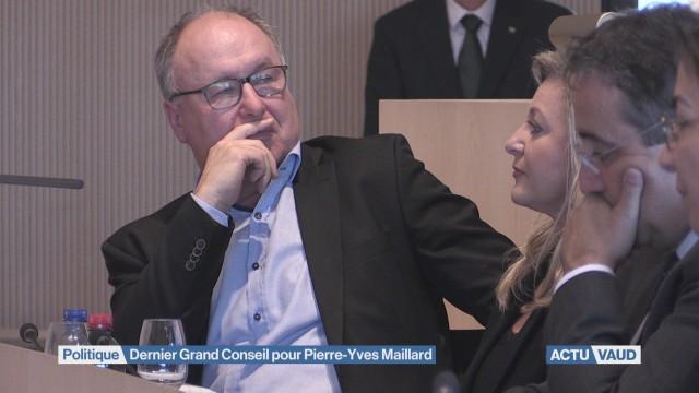 Pierre-Yves Maillard a vécu son dernier Grand Conseil.