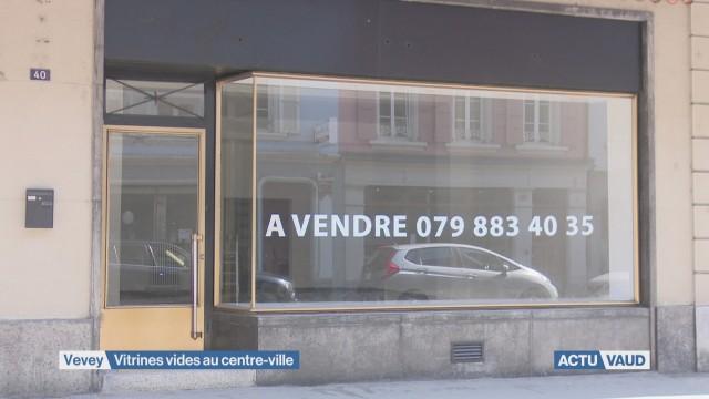 Combattre les vitrines vides à Vevey