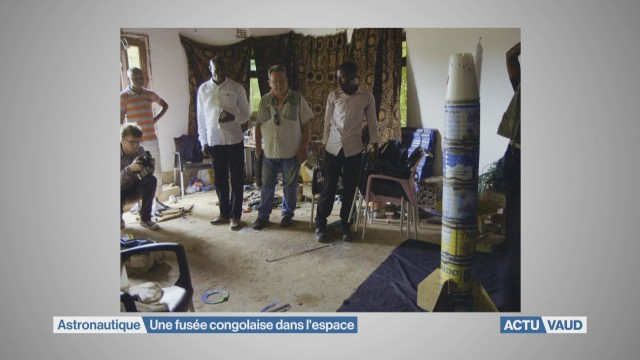 Une fusée congolaise dans l'espace