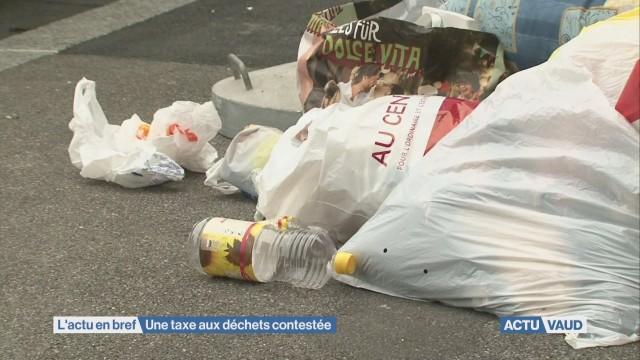 Taxe aux déchets dénoncée