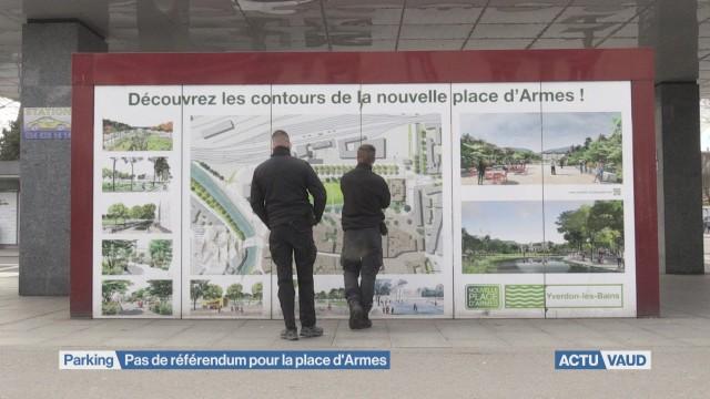 Pas de référendum pour la place d'Armes