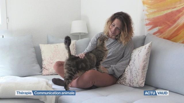 Elle communique avec vos animaux de compagnie