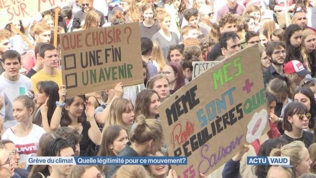 4500 lausannois réunis pour la grève du climat