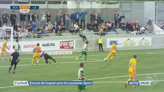 Encore de l'espoir pour le Lausanne-Sport