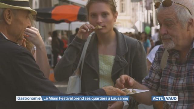 Le Miam Festival va faire saliver les Vaudois
