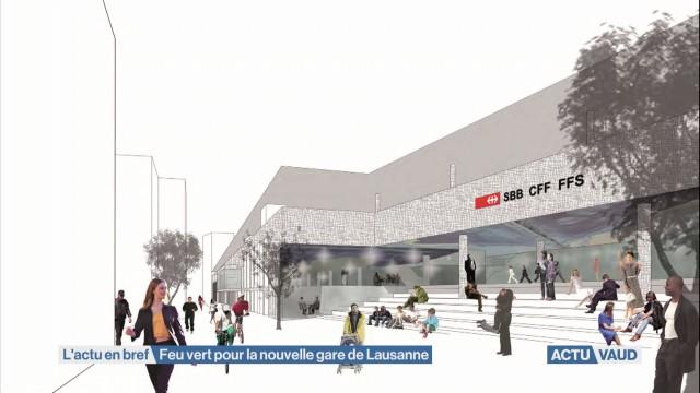 La transformation de la gare de Lausanne prend forme