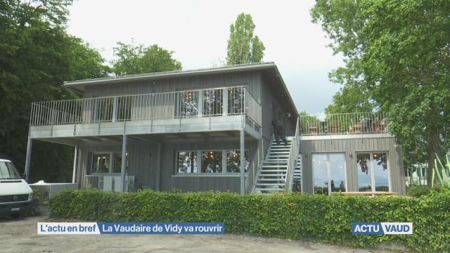 Réouverture du restaurant La Vaudaire
