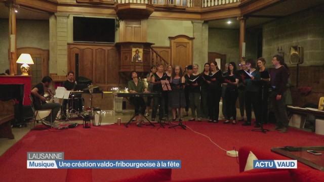 Une création valdo-fribourgeoise à la Fête de la Musique
