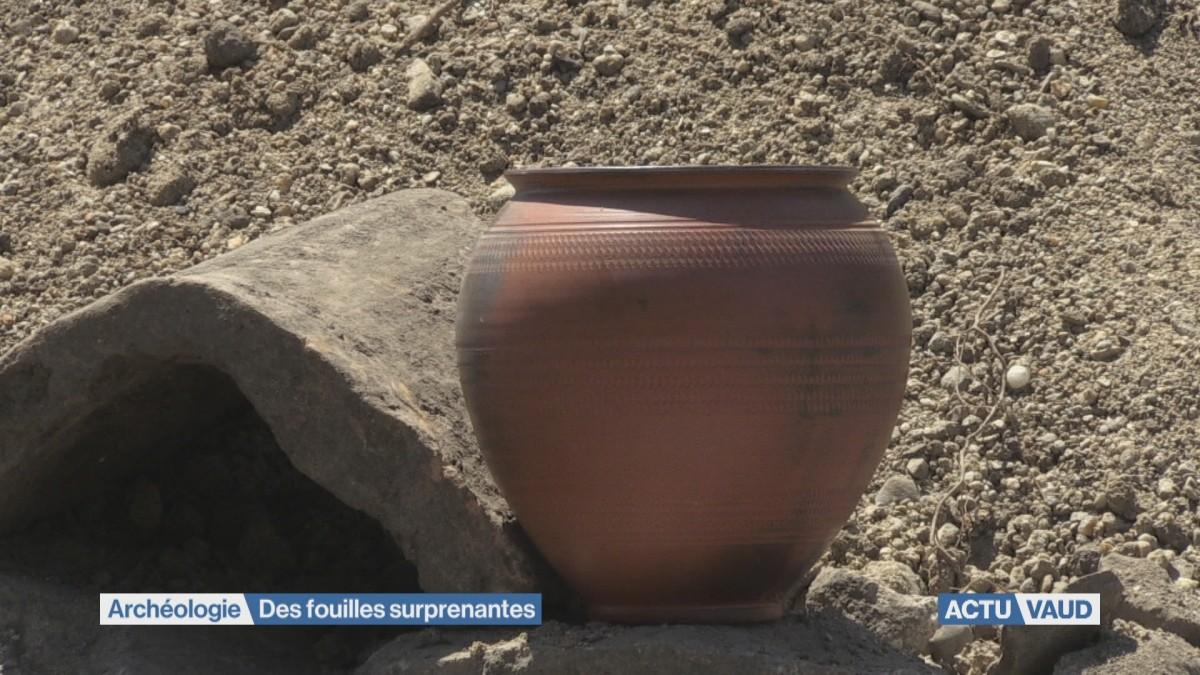 Des fouilles surprenantes