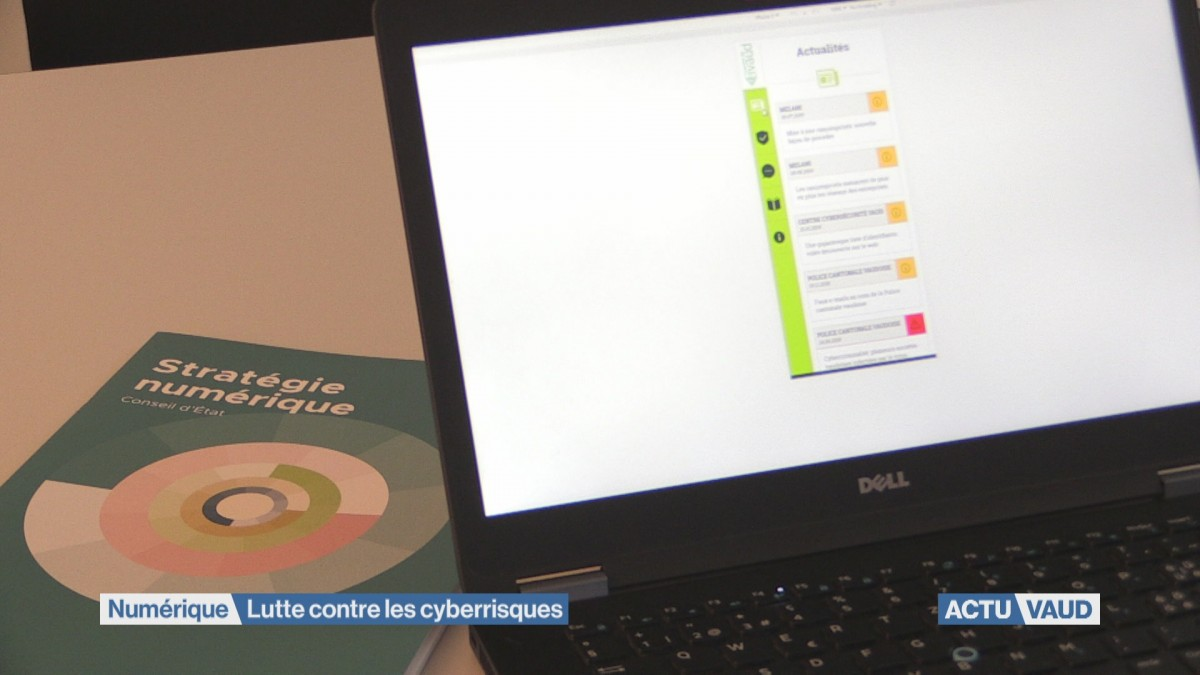 L'Etat de Vaud intensifie sa lutte conte les cyberrisques