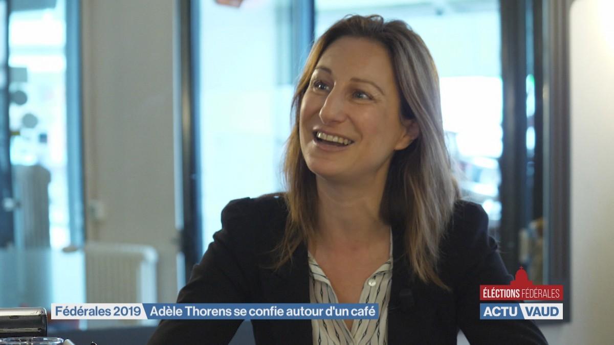 Interview-portrait d'Adèle Thorens