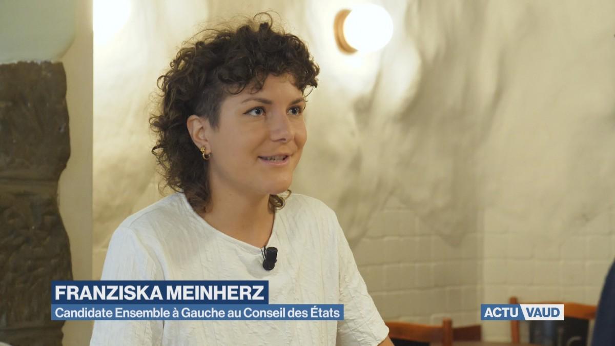 Portrait de Franziska Meinherz