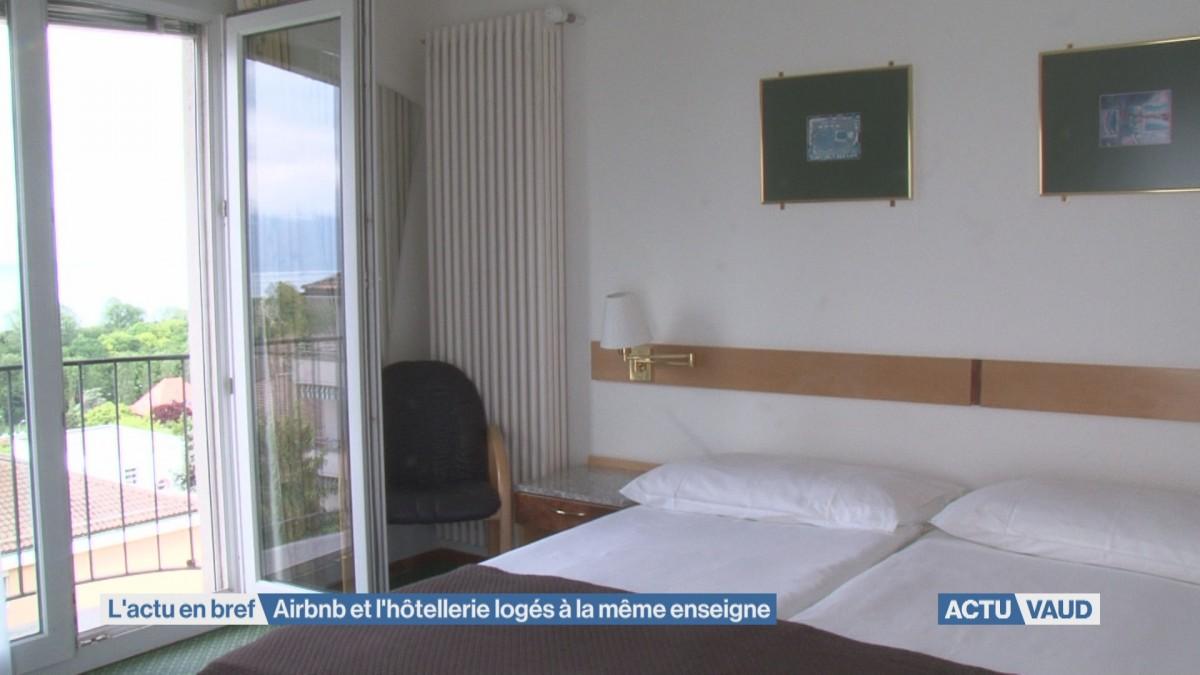 Airbnb et l'hôtellerie logés à la même enseigne