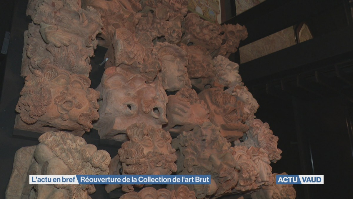 Réouverture de la Collection de l'art Brut