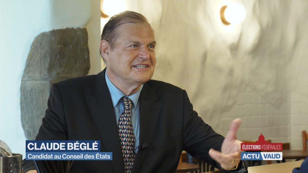 Portrait de Claude Béglé